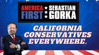 California conservatives everywhere. Sebastian Gorka on AMERICA First