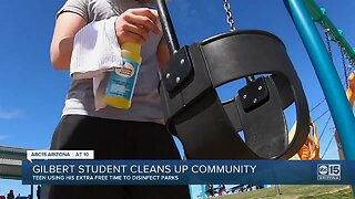 Gilbert teen working to clean up community