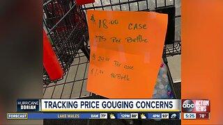 Tracking price gouging concerns in Florida