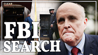 FBI Search Rudy Giuliani's Apartment; Project Syndicate: The Globalist & CCP Propaganda Outlet