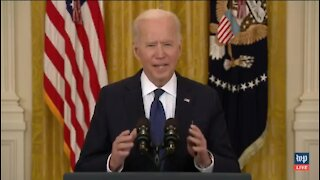 Biden Claims There's No Evidence Americans Are Collecting Unemployment Instead Of Working