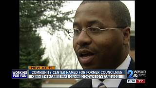 Former Baltimore councilman honored