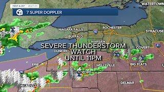 7 First Alert Forecast 5 p.m. Update, Wednesday, July 7