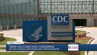 Health News 2 Use: Teen vaccination concerns