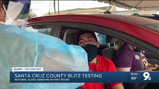 Santa Cruz County kicks off the first round of blitz testing