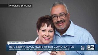 State representative, wife return to Valley after COVID-19 battle