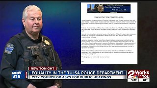 Tulsa councilor wants public hearings on race and policing
