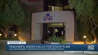 Arizona Education Association calls for Ducey to implement statewide school reopening plan