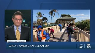 Volunteers beautify Fort Pierce for the Great American Cleanup