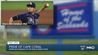 Cape Coral high school alum pitches for the Tampa Bay Rays in the World Series