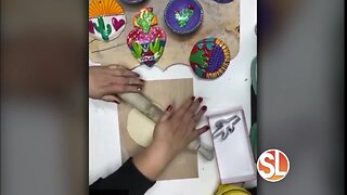 """Kathy Cano-Murillo aka """"Crafty Chica"""" shows how to make fun projects using air drying clay"""