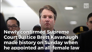 Kavanaugh Makes History with First Official Action on Supreme Court