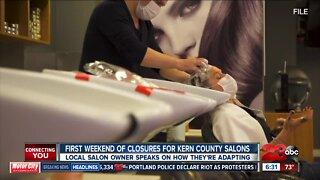 Salon owners speak on closures
