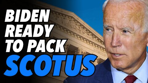 """Biden ready pack Supreme Court. Trump says they will """"get what they deserve"""""""