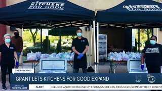 Grant helps San Diego-based Kitchens for Good expand services during coronavirus pandemic