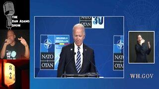 Joe Biden's brain completely broke when he was asked if Putin is a killer