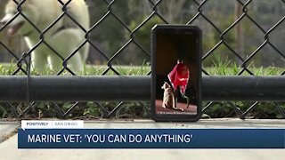 Marine Vet: 'You can do anything'
