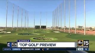 Sneak peek: TopGolf opening soon in Glendale, Arizona