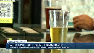 Bar closing time bill passes Michigan House