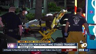 Chula Vista police investigate stabbing of transient