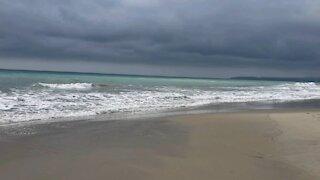 Deserted California Beach