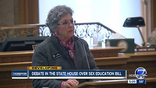 Debate in the state House over sex education bill
