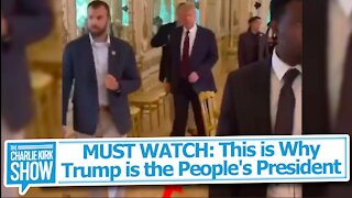 MUST WATCH: This is Why Trump is the People's President