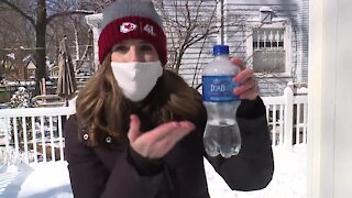Learning with Lindsey: Cold weather experiments