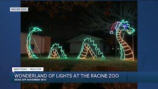 Racine Zoo debuts holiday lights drive-thru event