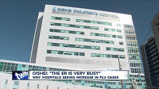 WNY hospitals seeing increase in flu cases