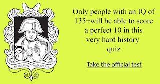 American History Quiz #10255