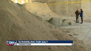 Salt shortage throughout Sheboygan County