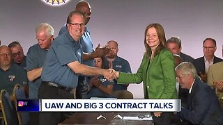 UAW and Big 3 contract talks