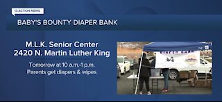 Diaper drive in North Las Vegas on Wednesday