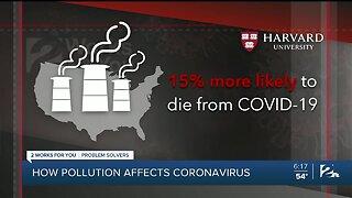 Problem Solvers Coronavirus Hotline: How pollution affects coronavirus