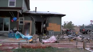 Local radio host loses Parker home in fire Sunday night