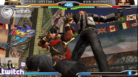 (PS2) KOF Maximum Impact 2 - 27 - Hanzo Hattori... why I'm so bad! D: