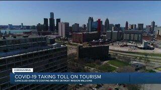 Metro Detroit tourism hit hard