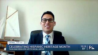 Hispanic Heritage Month: Moises Echeverria