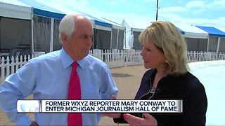 Former WXYZ reporter Mary Conway to join Michigan Journalism Hall of Fame,