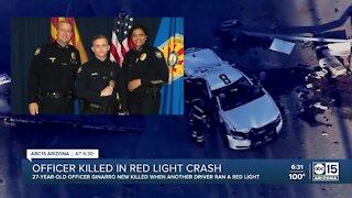Phoenix officer killed in red-light crash