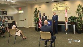 HUD Secretary Ben Carson visits Fort Myers