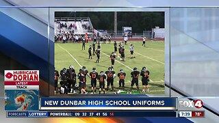 Dunbar High football team gets new uniforms