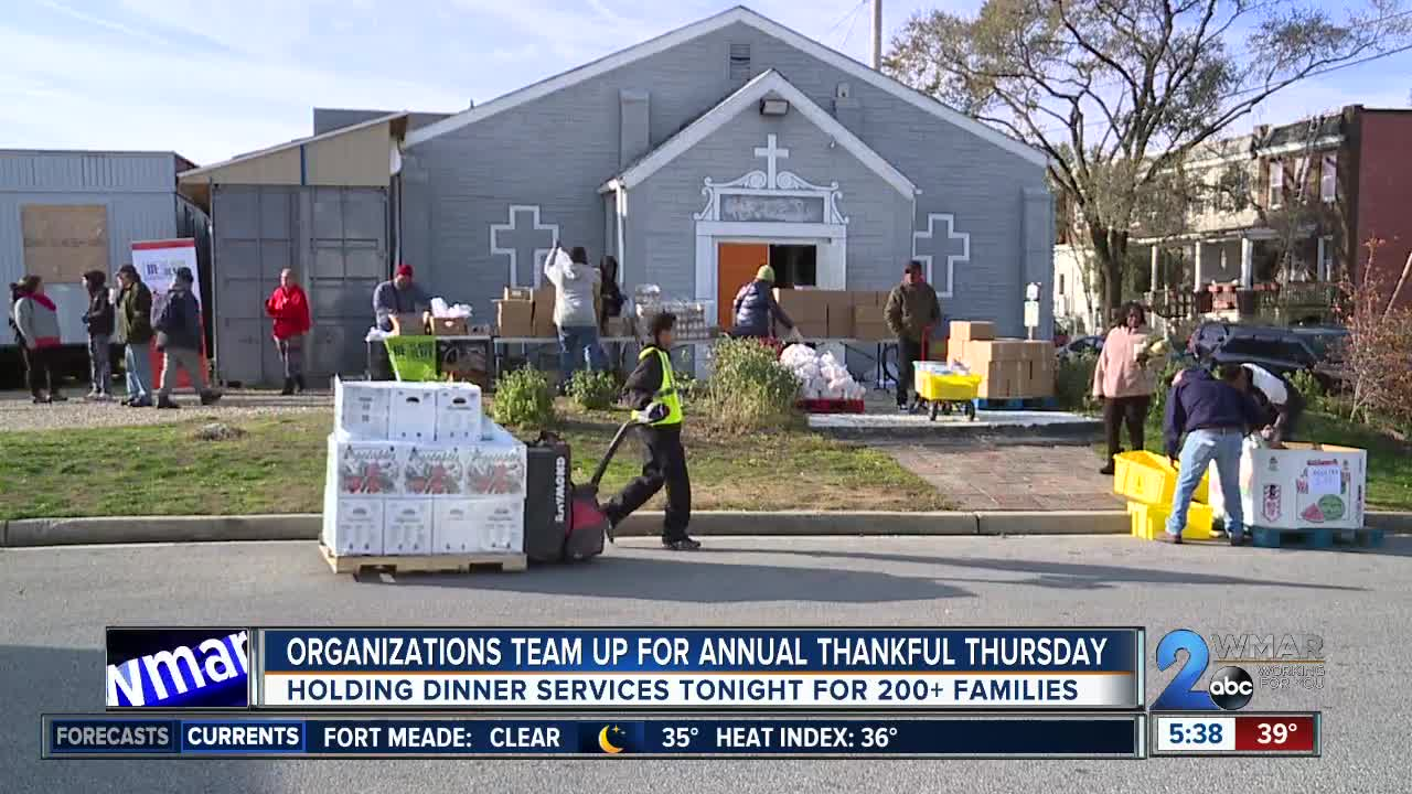 Organizations team up to provide Thanksgiving baskets for the community