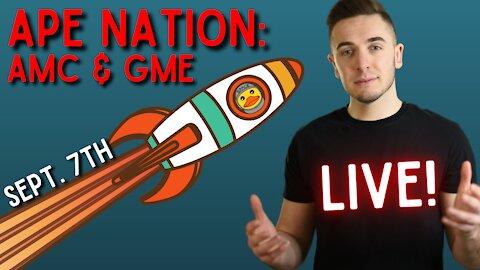 Ep. 63 Ape Nation: Ready To Rock(it) 🚀🚀🚀    Dumb Money: AMC, GameStop & Crypto