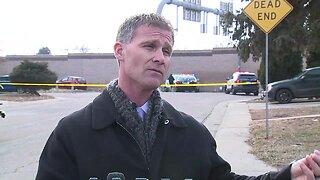 Press conference: Westminster officer injured after pursuit of suspect in stolen patrol car, officer-involved shooting