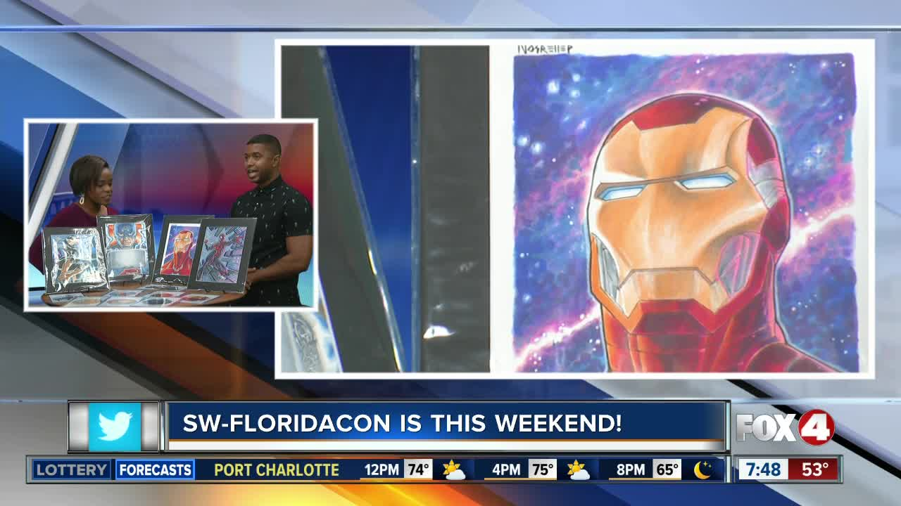 Catch local comic book artists this Saturday Southwest Florida Con!