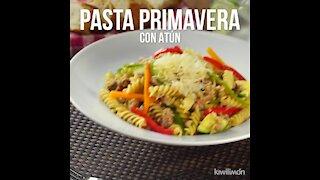 Pasta Primavera with Tuna