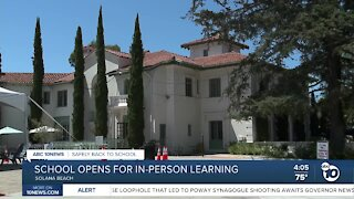 School opens for in-person learning