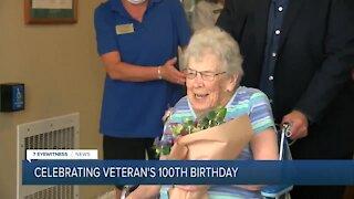 Veteran Turns 100
